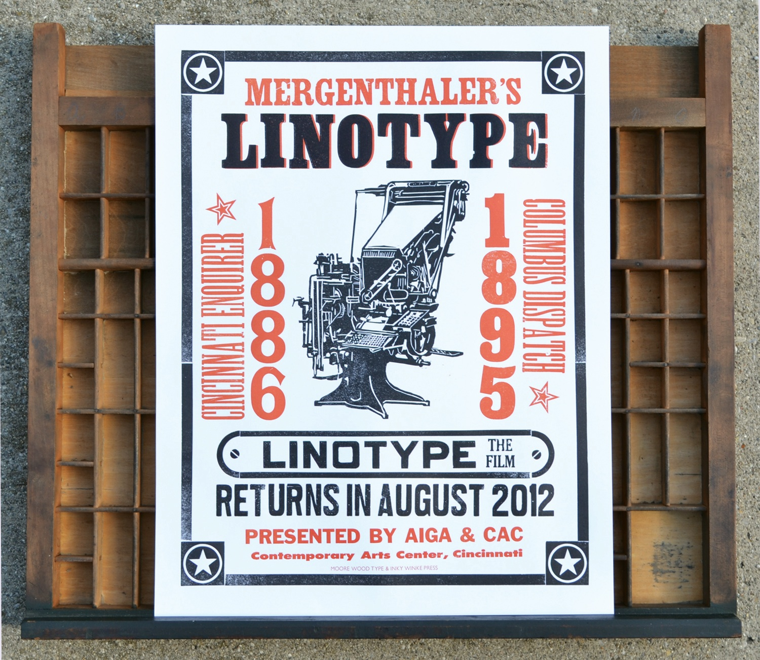 Linotype Movie Poster