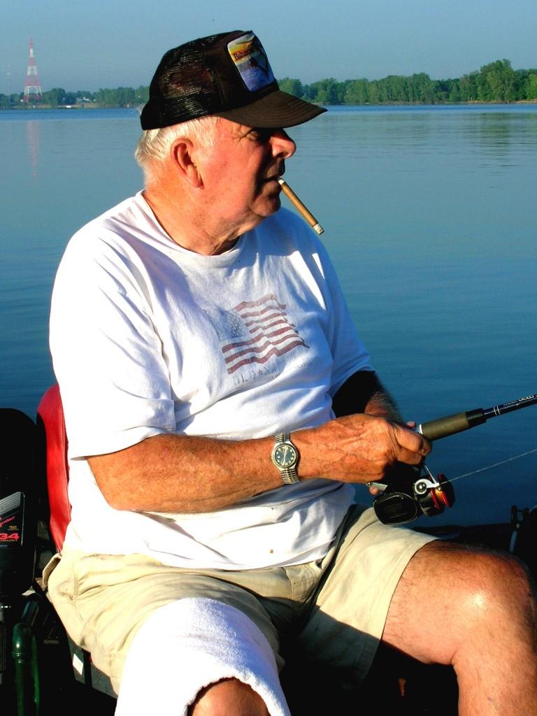 Ron fishing