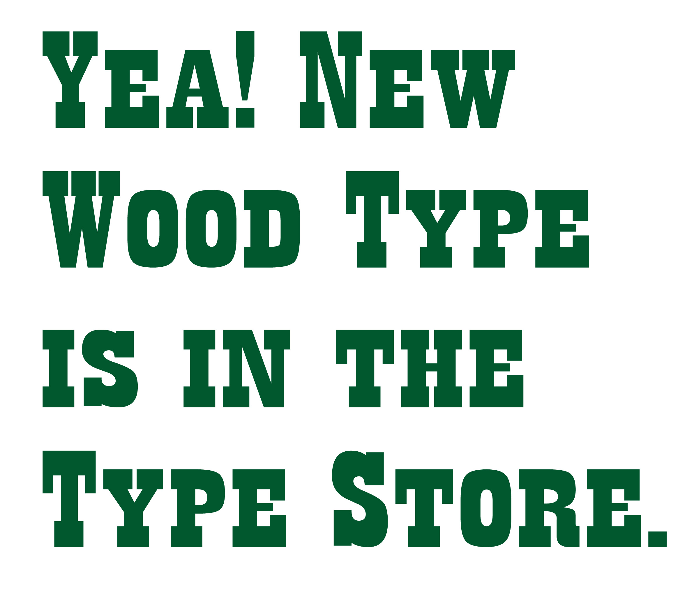new wood type